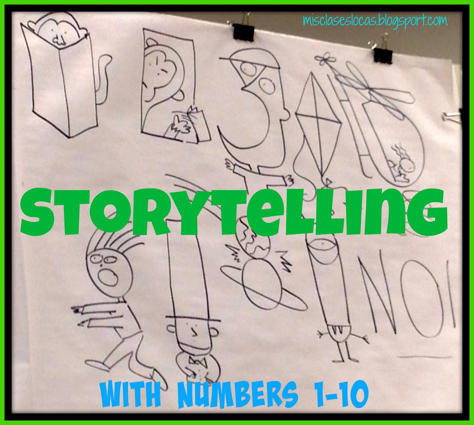 One Activity Of His That I Would Like To Share Will Call Storytelling With Numbers 1 10 He Started Presentation This Engaging Demonstration