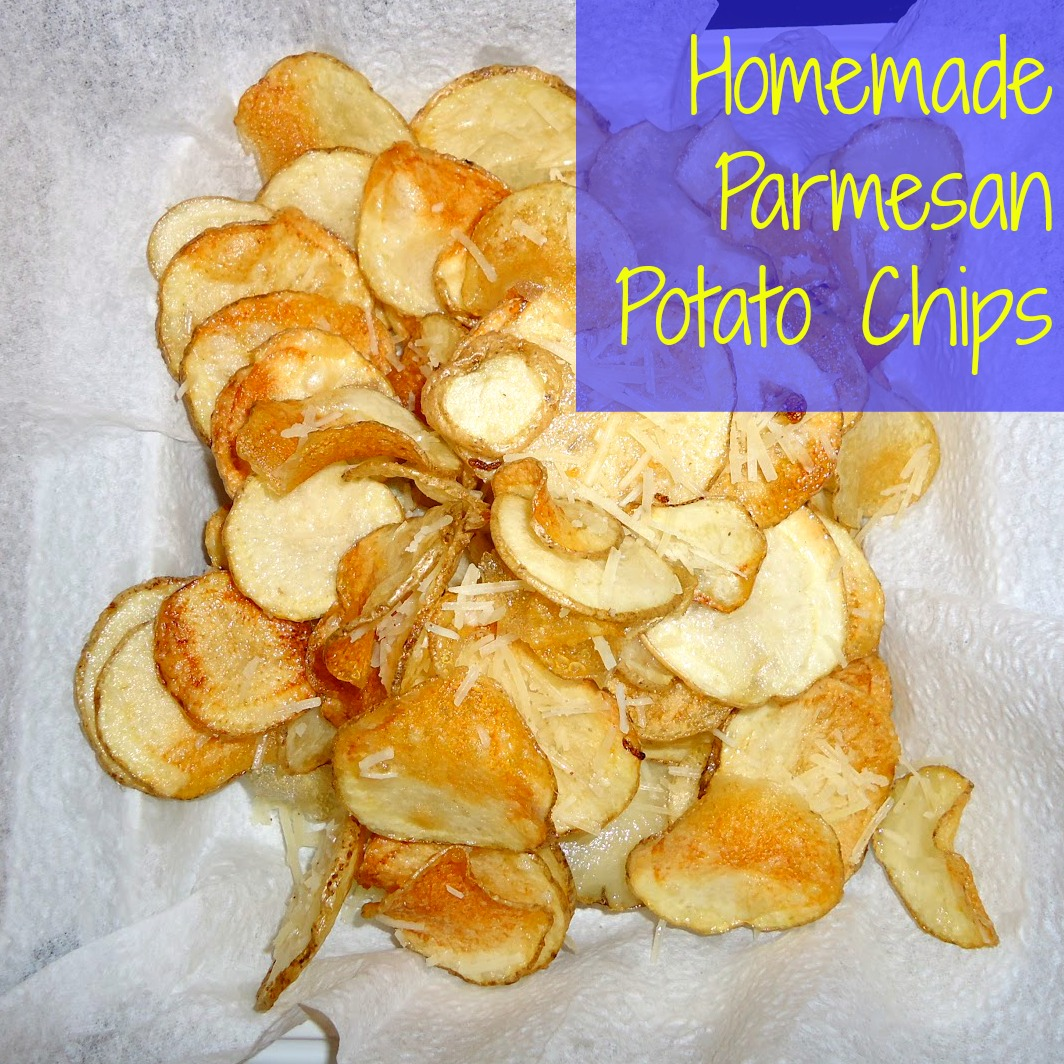 Homemade Parmesan Potato Chips