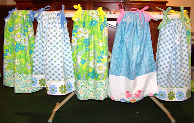 Cute Ideas For Pillowcase Dresses : ShoeBoxes of Love: Quick and Cute Pillowcase Dress