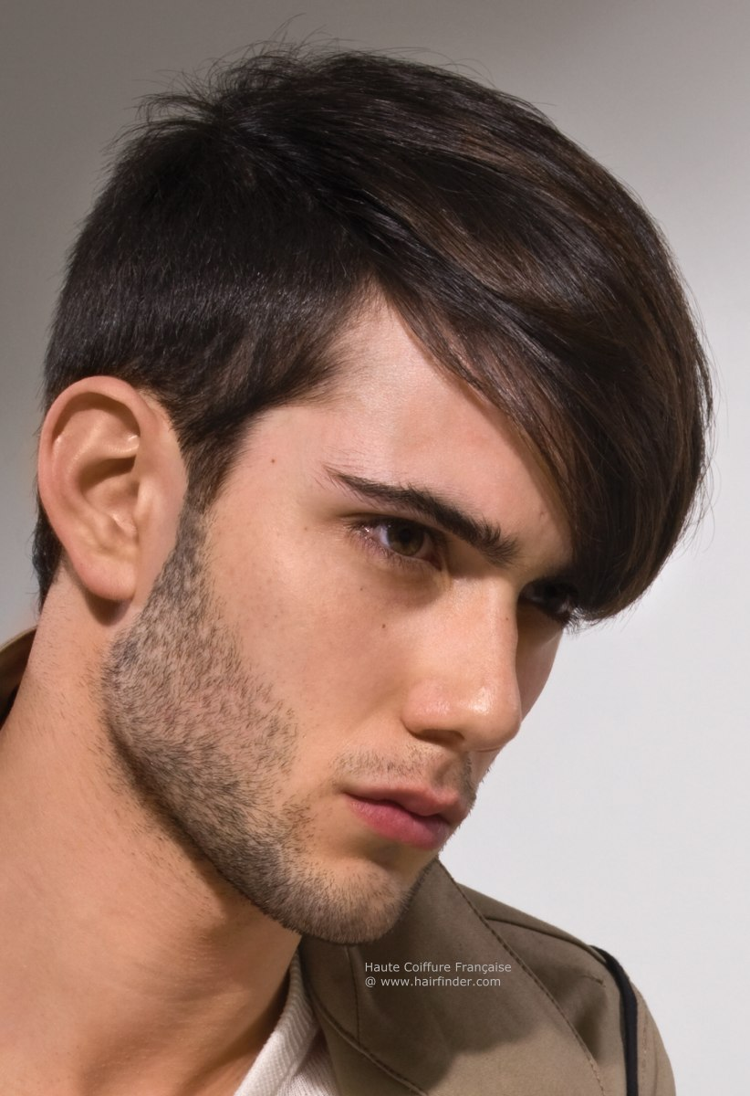 Young Man Haircut Hair Style Vacation