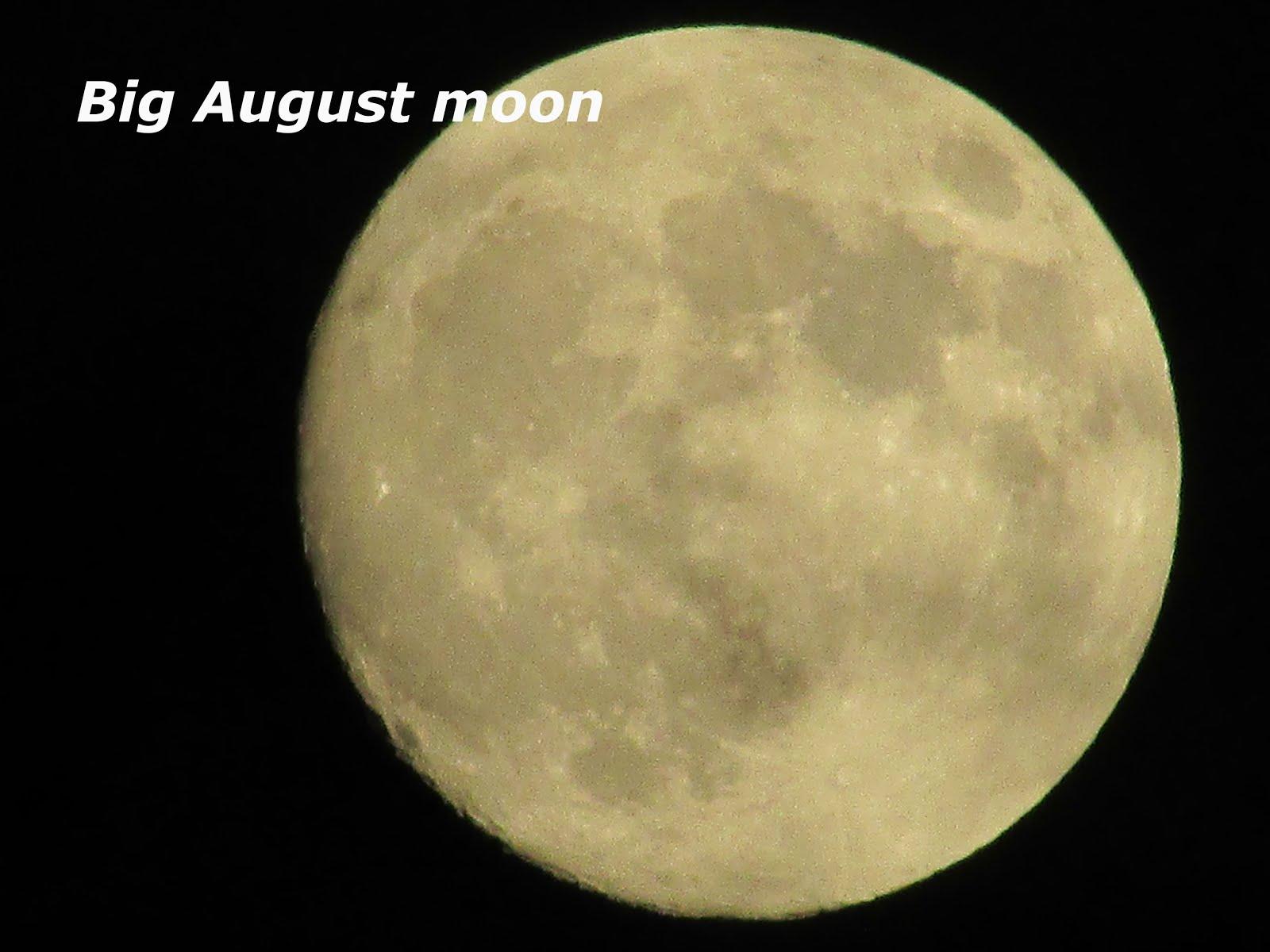 big bright full moon this week