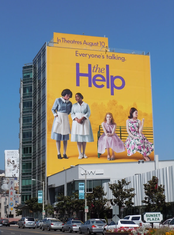 The Help giant billboard