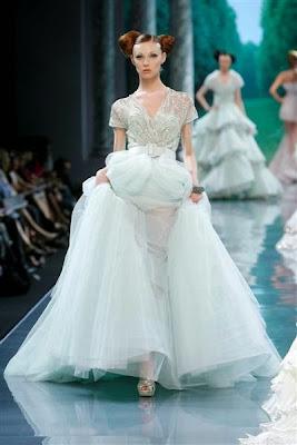 les plus belles robes de soirée christian dior haute couture robes de princesses vert pâle vert eau vert pomme vert nil