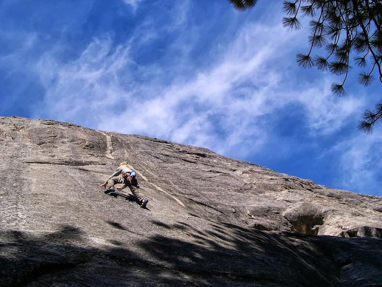Crystal Wall....Chimney Rock