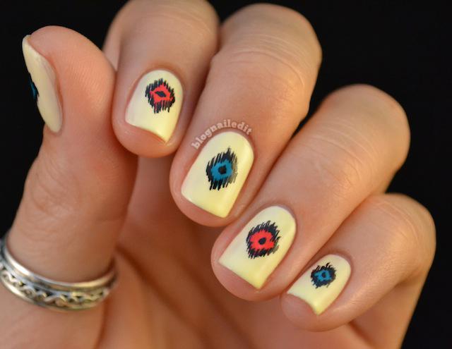 Native American Rug - Nailed It | The Nail Art Blog
