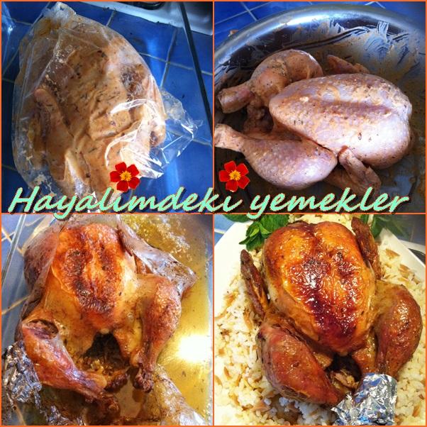 Fırında Tavuk nasil yapilir,resimli firinda soslu tavuk nasil yapilir