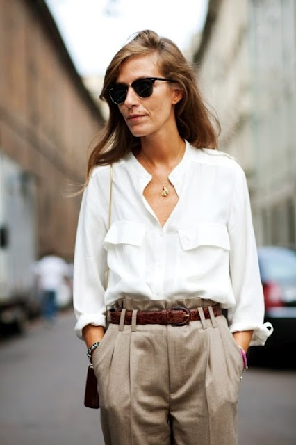 Sexy The White Button Down Shirt Inspiration Luxe Millennial