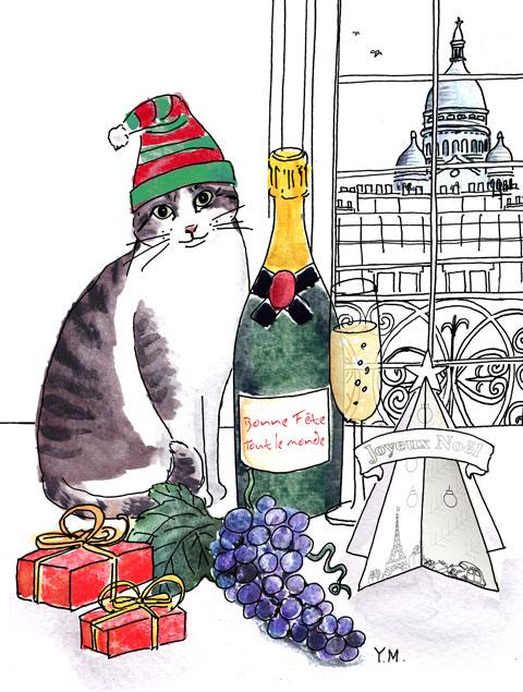 """Vente de Noël 2013 à """"L'Assiette"""" par Yukié Matsushita"""