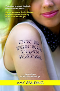 Ink is Thicker Than Water Amy Spalding book cover