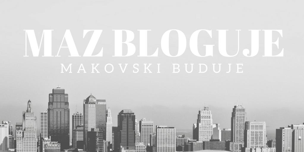 Mąż bloguje