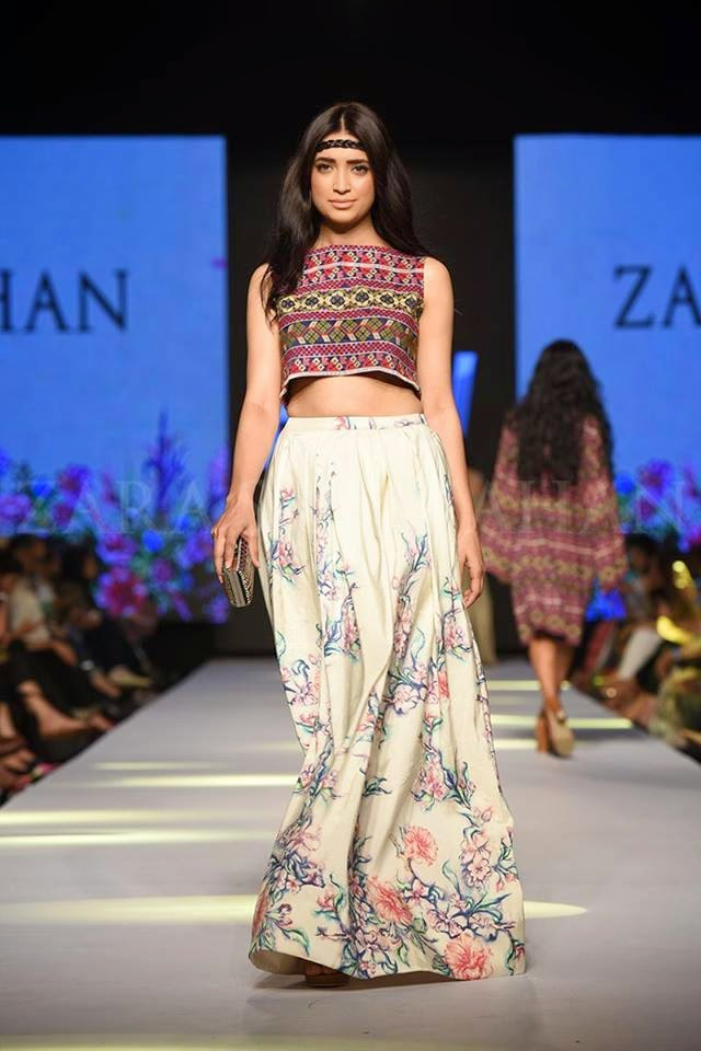 Zara Shahjahan beautiful TPFW 2015 summer dresses