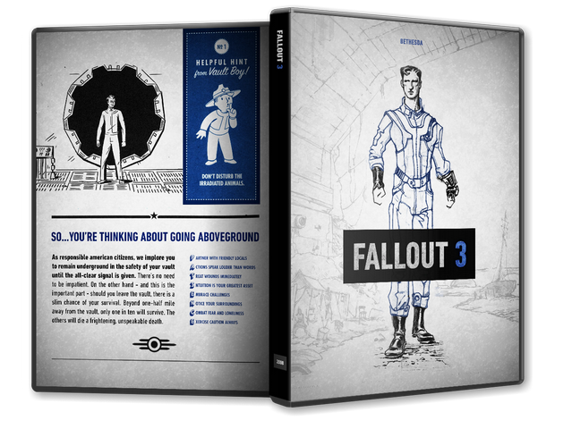 Capa Fallout 3 PC