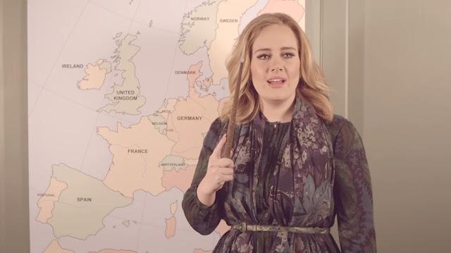 Adele anuncia fechas para el Adele Live Tour 2016.
