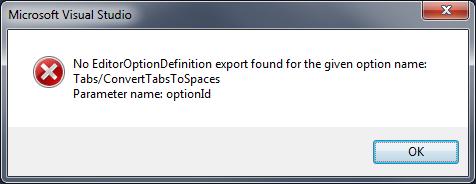 No EditorOption Definition export found