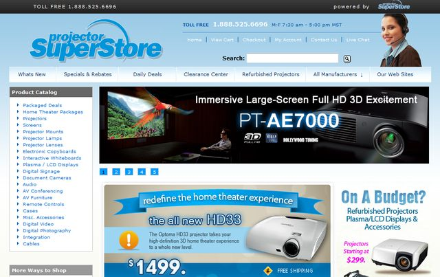 home theater projectors for sale