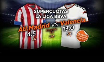 888sport super cuota mejorada liga bbva Atletico vs Valencia 8 marzo