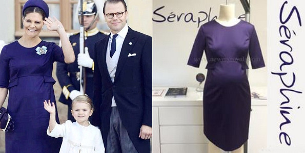 Princess Victoria's SERAPHINE Bespoke Dress