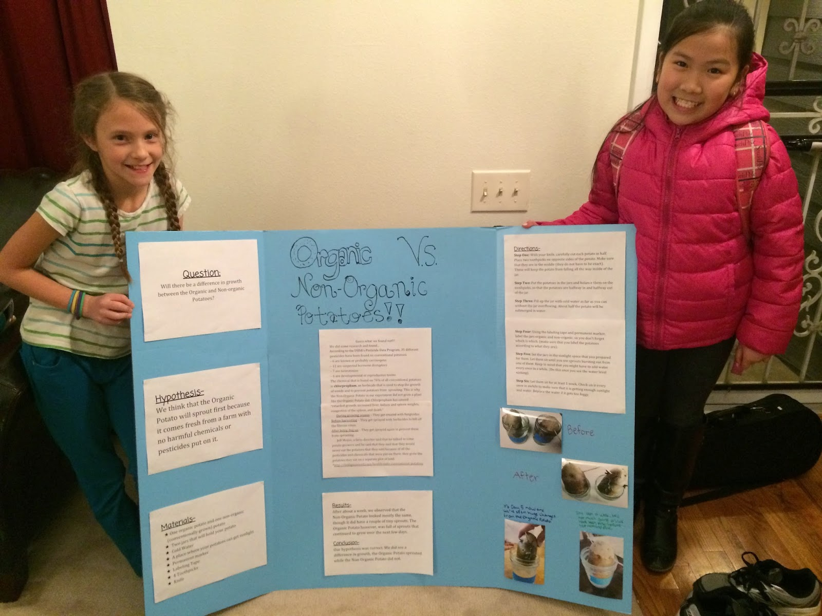 completed science fair projects Five fast and easy science project guides that can be finished in 24 hours experiments are perfect for the science fair.