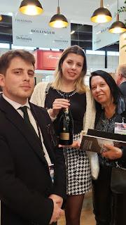 Momento Vinexpo Bordeaux 2019 com  Champagne Bollinger