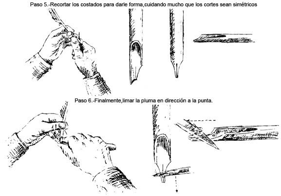 Hace tu propia pluma para escribir