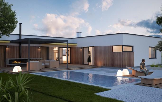 Casa moderna for Modelo de casa de 4x6