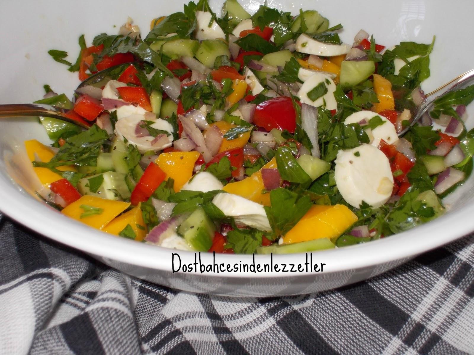 Avakadolu mango salatası tarifi