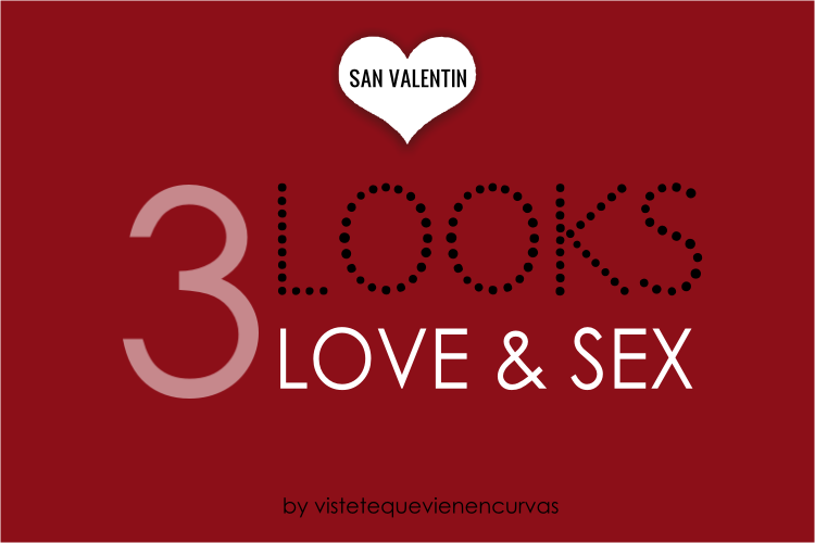San Valentín: 3 citas 3 looks