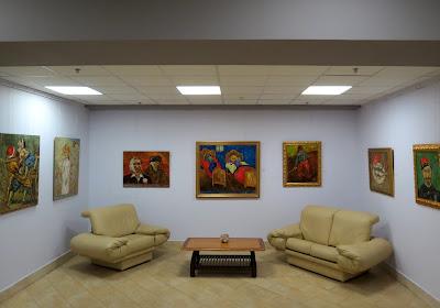 Экспозиция Владислава Шерешевского в Музее современного искусства Украины включала 160 творений из  частных и личной коллекции атора