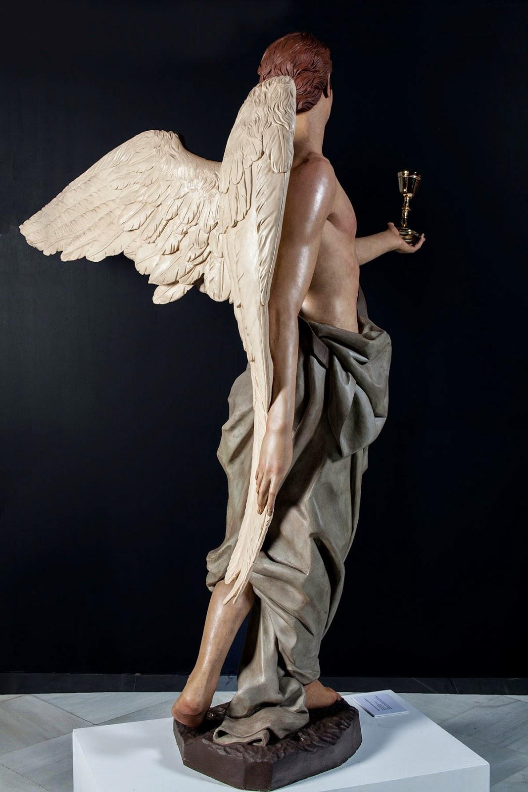 Ángel Semana Santa Tobarra escultura 5