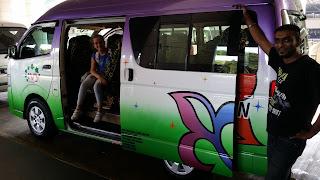 Vehículo para el traslado desde el aeropuerto en Kuala Lumpur