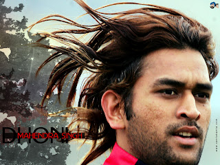 Mahendra Singh Dhoni with Long Hairstyle - Men Haircut Ideas
