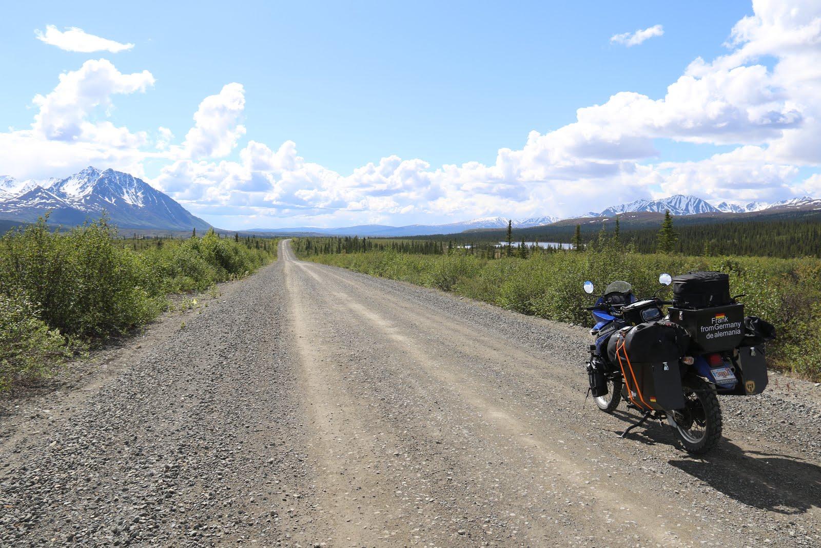 unterwegs auf dem Denali Highway
