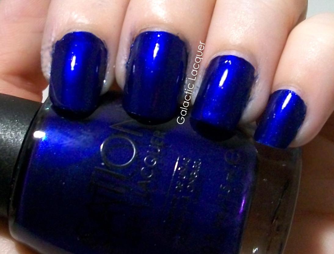 Dark blue car paint colors - Sation Midnight Blue