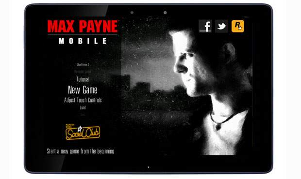 Max Payne Mobile for Android Tablets / Phones