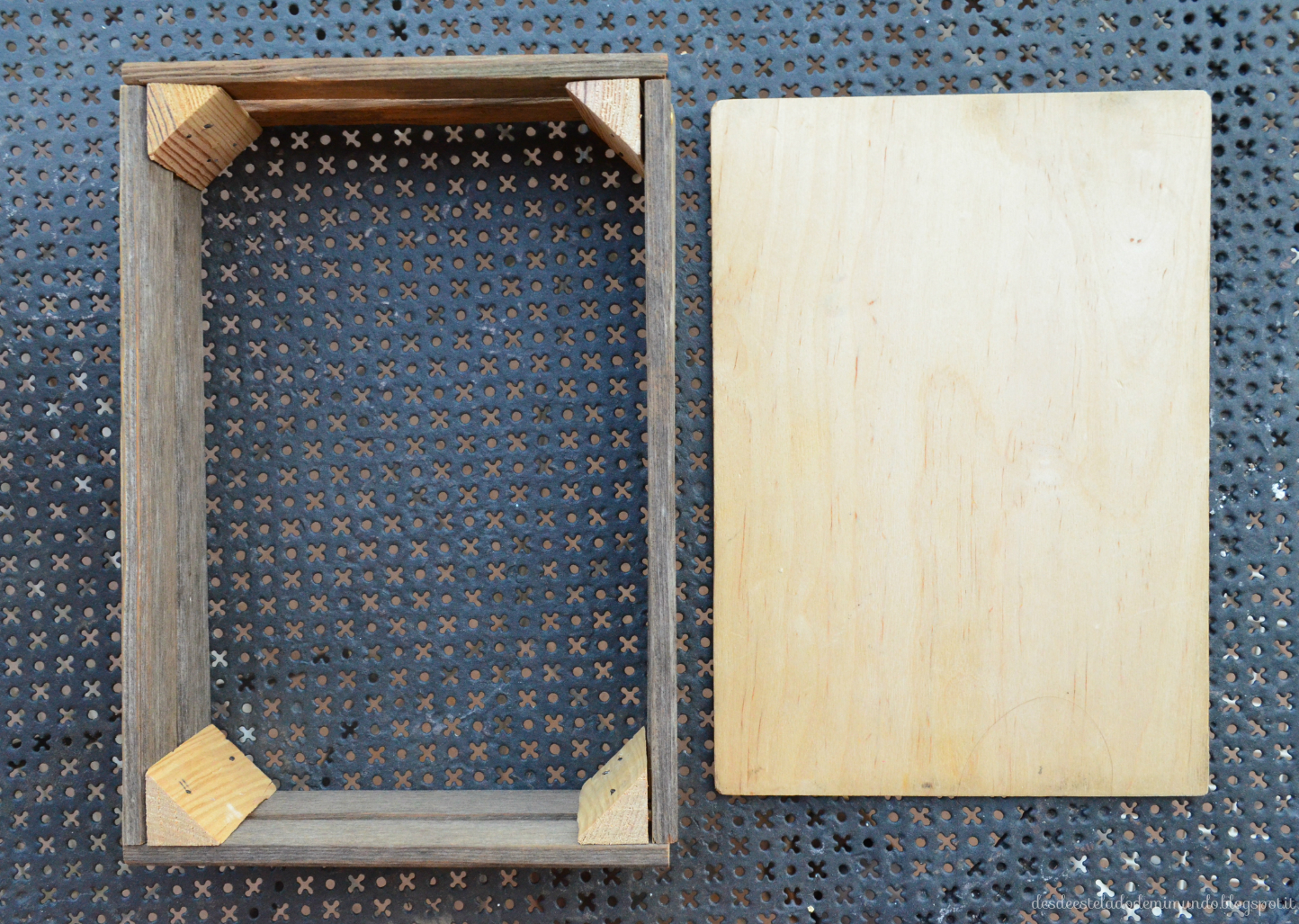rustic wooden tray desdeesteladodemimundo.blogspot.it