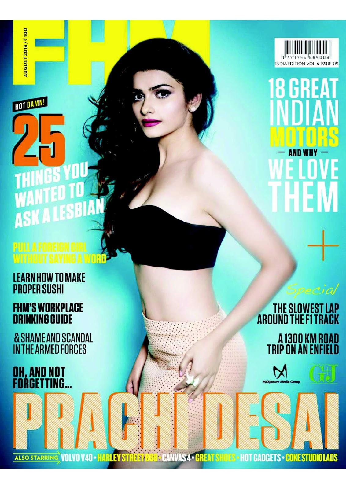 FHM Magazine India August 2013
