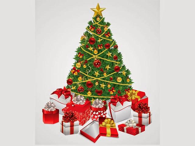 Desain Vector Selamat Hari Natal Gratis Download | Desain