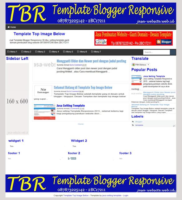 contoh template top image below