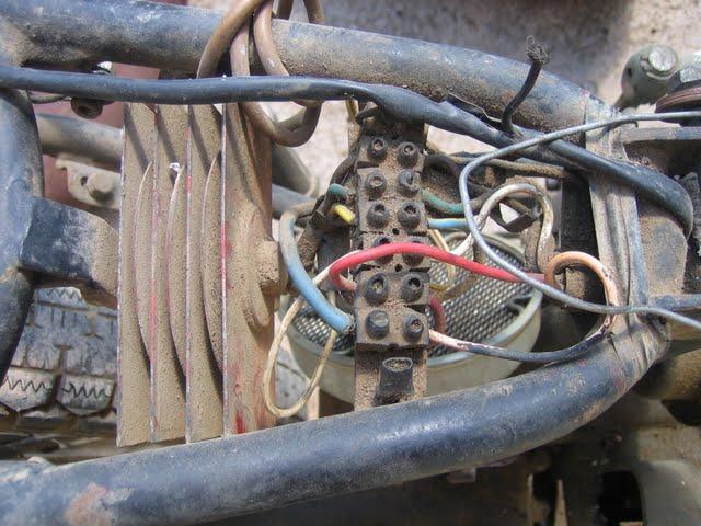Ducati 175 ts instalaci n el ctrica desmontaje - Cable instalacion electrica ...