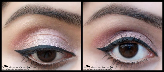 Lakme Absolute Shine Line Black Liquid Liner Review Swatches, neutral eyemakeup,winged liner