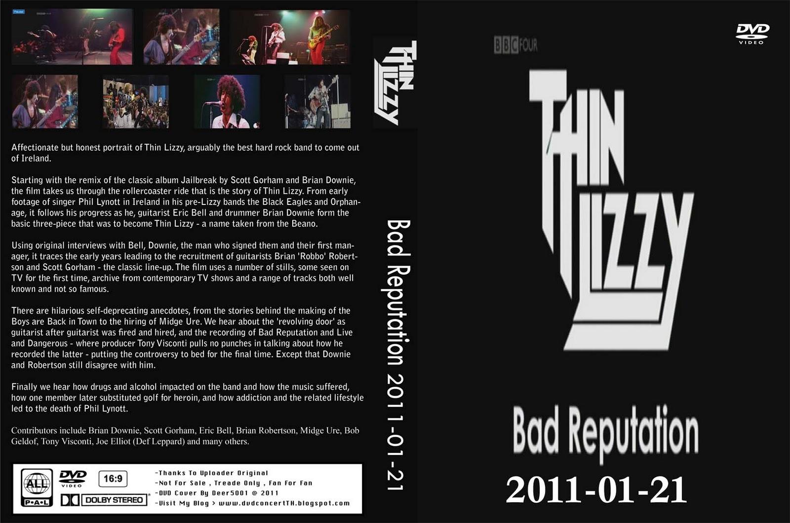 Thin lizzy - bad reputation - 01-21-2011