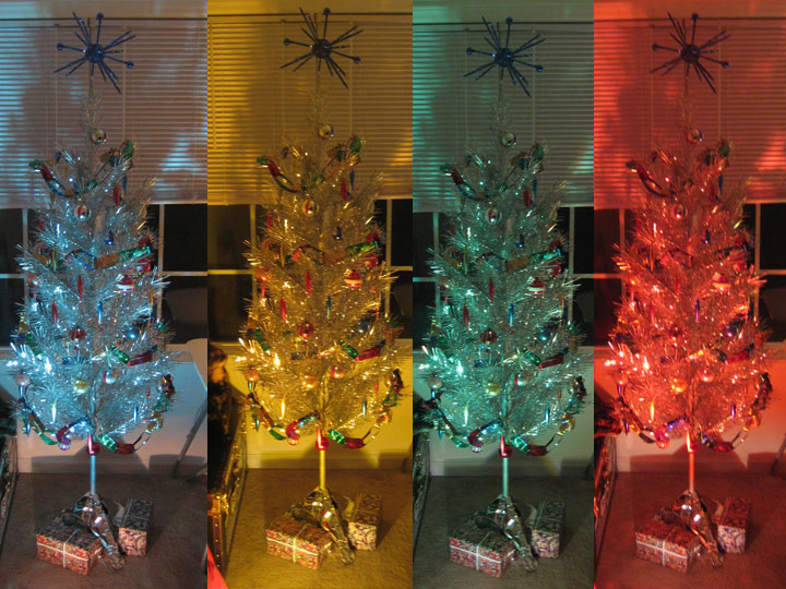 Rotating Artificial Christmas Tree Stand