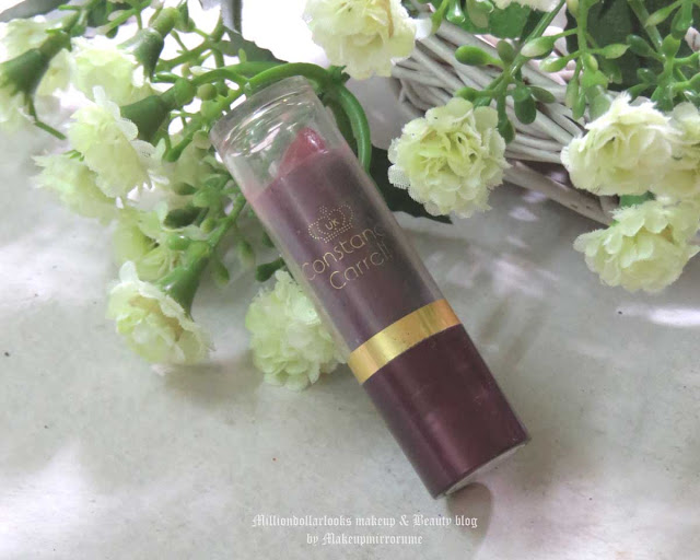 Constance Carroll Lipstick 356 Mauve Review, Swatch and Pictures, Best affordable lipsticks, Indian makeup blogger, Indian beauty blog, Indian beauty blogger, Mauve lipsticks, Best everyday lipsticks, Lipsticks for Indian skintone