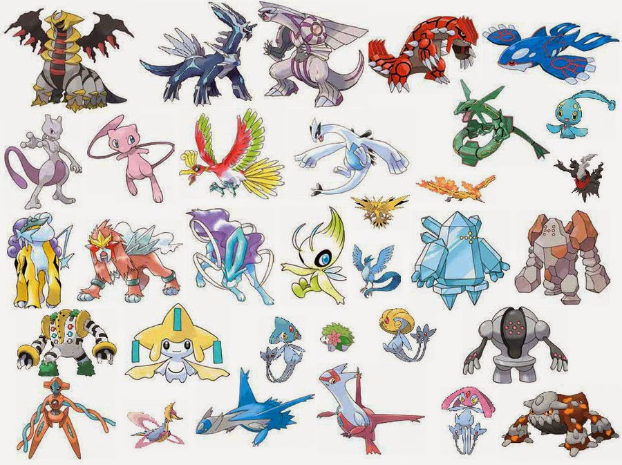 Legendary Pokemon - Best Flash Games