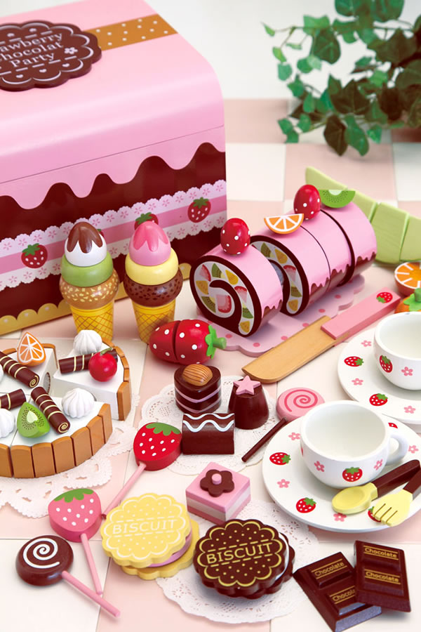 Strawberry Chocolate Party Playset