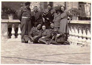 Osimo agosto 1944. Terrazza di Casa Scarponi