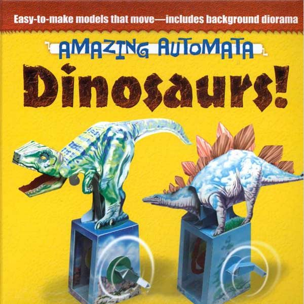 One Book With Five Amazing Dinosaur Automata You Can Make