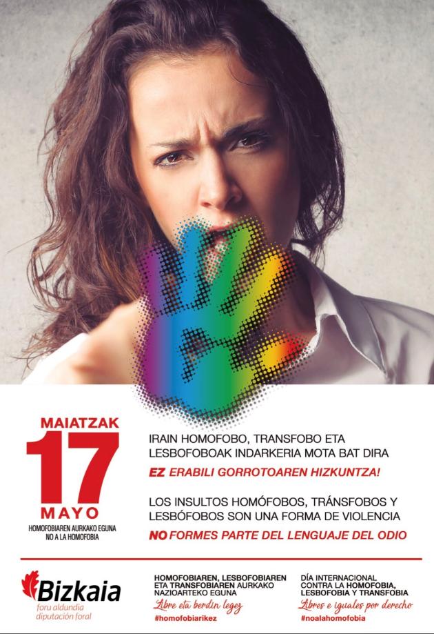 ¡NO A LA HOMOFOBIA!