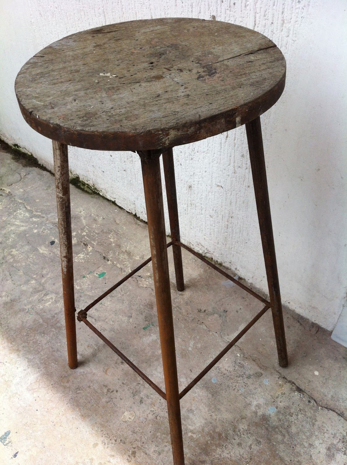 Anything Under The Sun Restoration File 3 Old Stool To