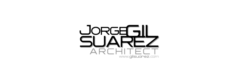 JORGE GIL SUAREZ - ARCHITECT - 建築師